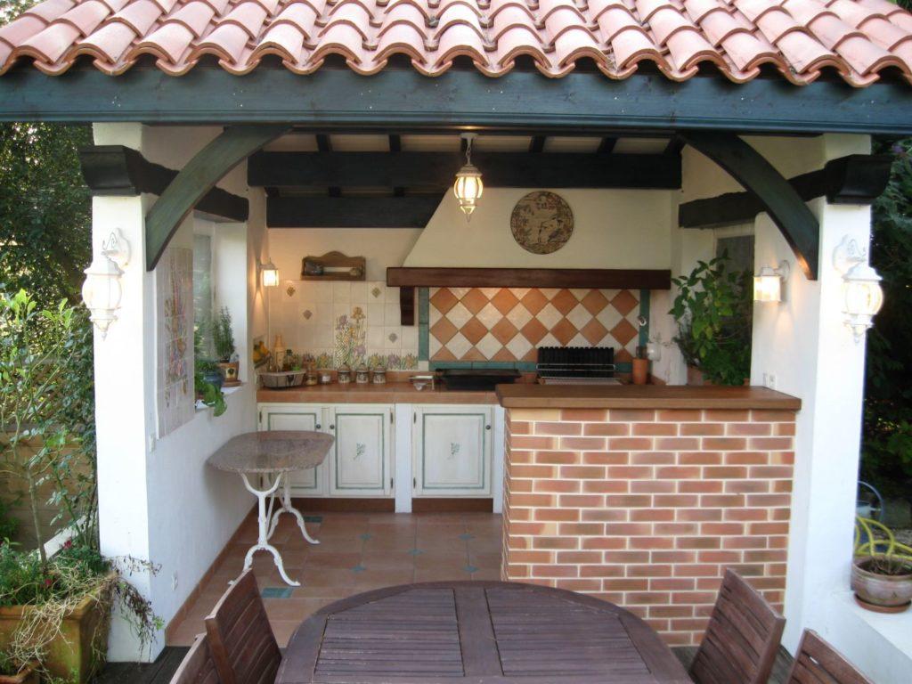 modèle cuisine d'extérieur
