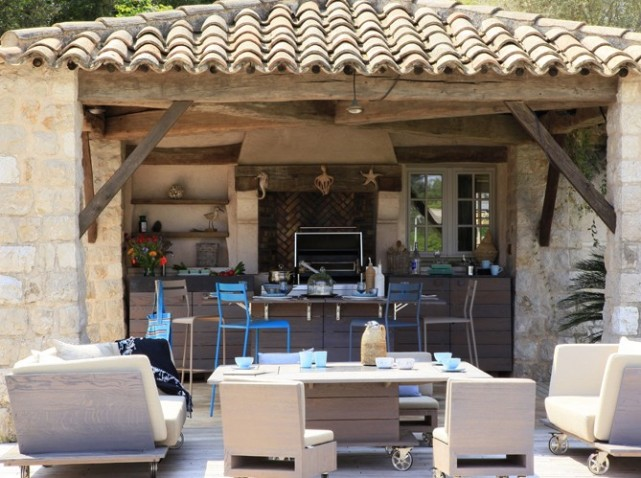 Cuisine d ext rieur top cuisine for Amenagement cuisine pool house
