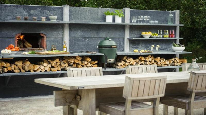 Cuisine exterieure top cuisine for Cuisine exterieur pierre