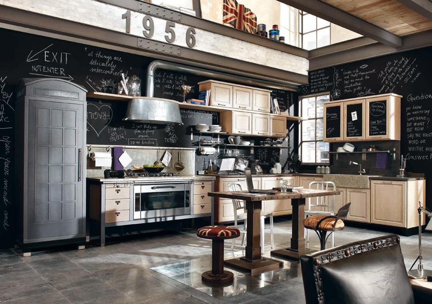 cuisine vintage top cuisine. Black Bedroom Furniture Sets. Home Design Ideas