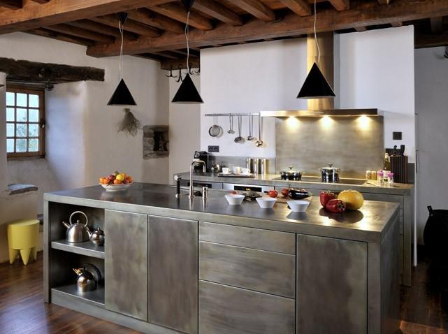 exemple cuisine zinc