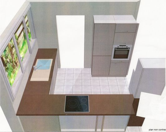 Id e am nagement cuisine 8m2 - Plan amenagement cuisine 8m2 ...