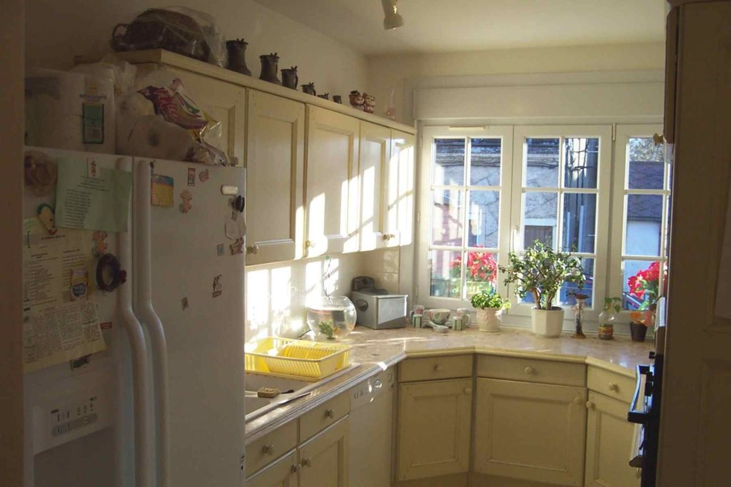 illustration cuisine et maison