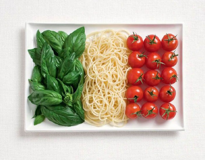 illustration cuisine italienne