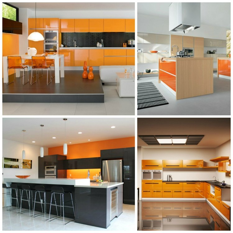 cuisine orange top cuisine. Black Bedroom Furniture Sets. Home Design Ideas