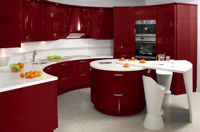 idée cuisine rouge