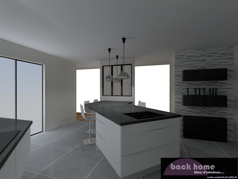 salon cuisine 20m2 cuisine en image of cuisine 20m2. Black Bedroom Furniture Sets. Home Design Ideas