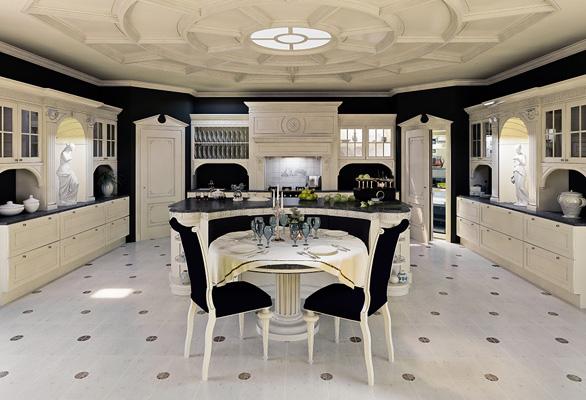 idée cuisine de luxe