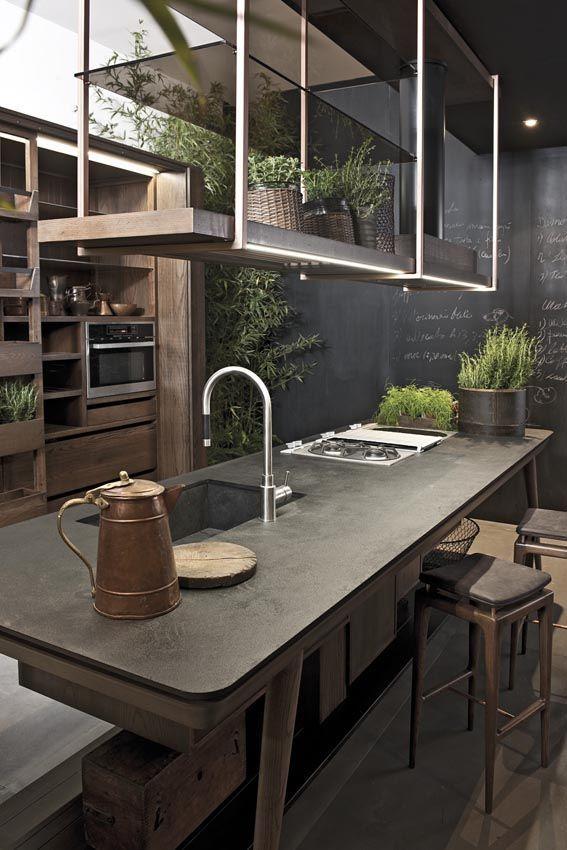 Cuisine ilot central top cuisine - Idee ilot central cuisine ...