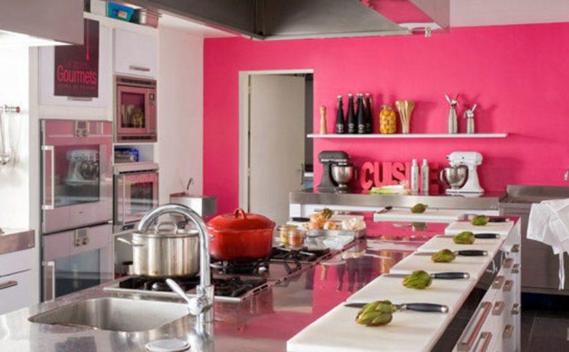 illustration cuisine rose