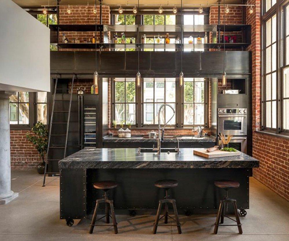 image cuisine industrielle