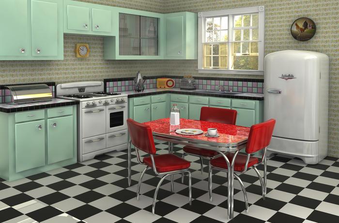 image cuisine retro