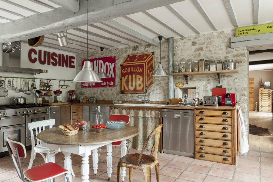 visualiser cuisine vintage