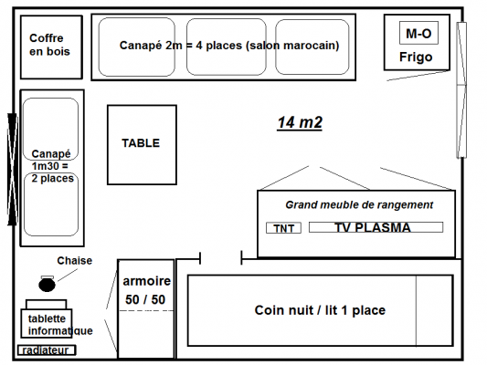 image cuisine 15m2