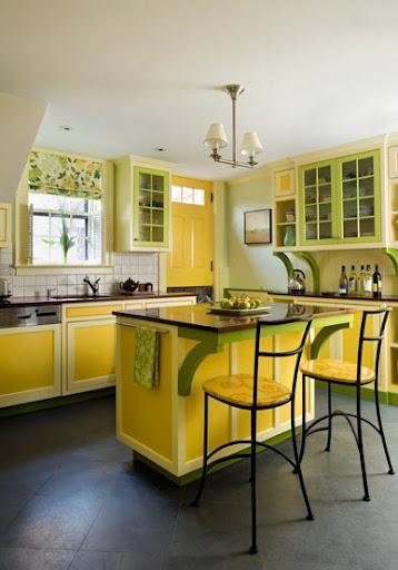 visualiser cuisine jaune