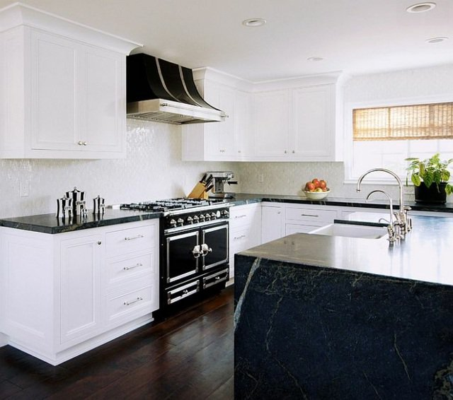 photographie cuisine noir et blanc