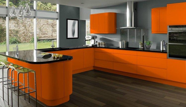 photo cuisine orange