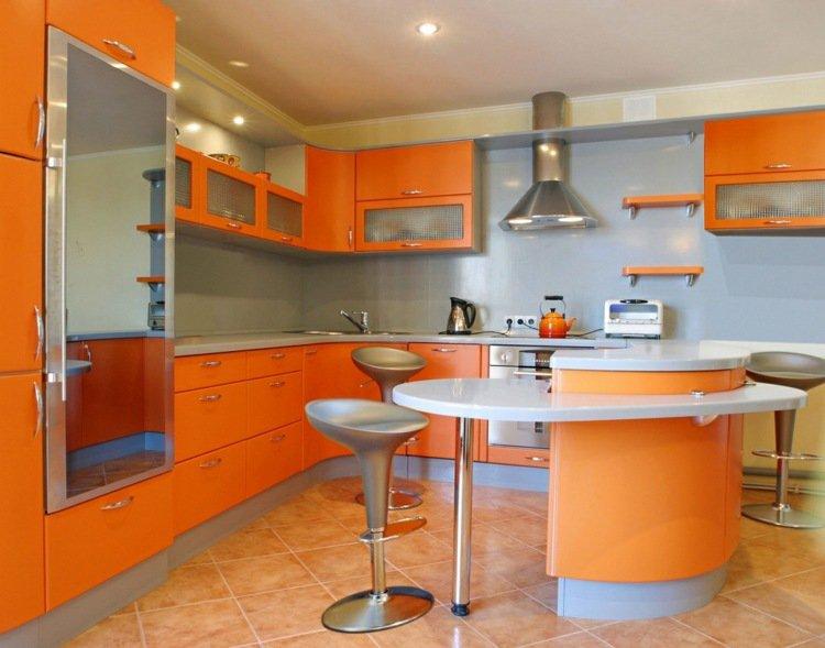 superbe cuisine orange