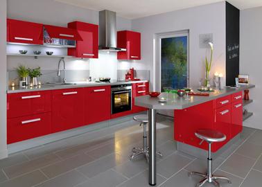 photographie cuisine rouge