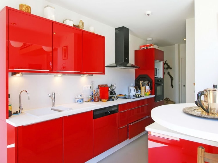 visualiser cuisine rouge