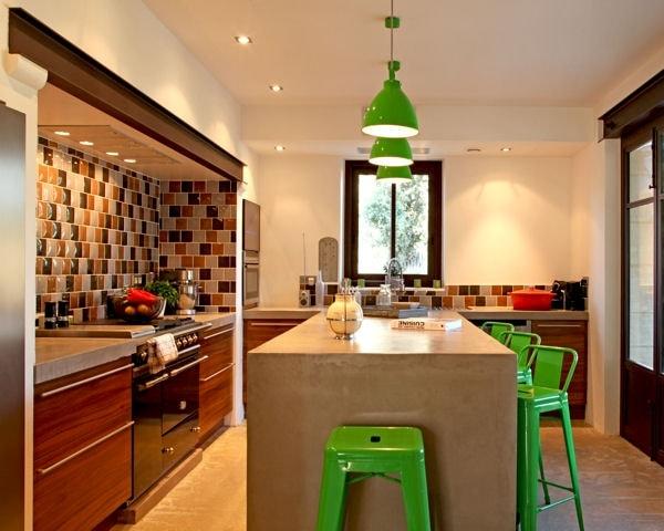 visualiser cuisine ouverte avec ilot