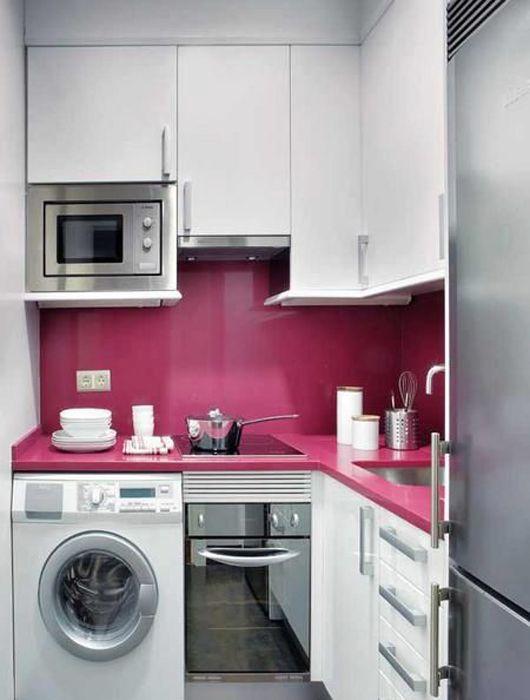 exemple cuisine rose
