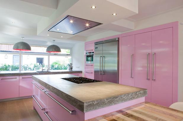 photographie cuisine rose